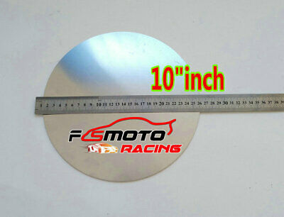 10 Inch Dia. 255mm Aluminum Disc Circle Blank Plate Flat Sheet Round 2mm Thick