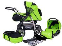 Baby merc junior pushchair