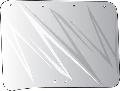 109168c1 Wing Window Glass For International 966 1066 1466 1566 1568 Tractor