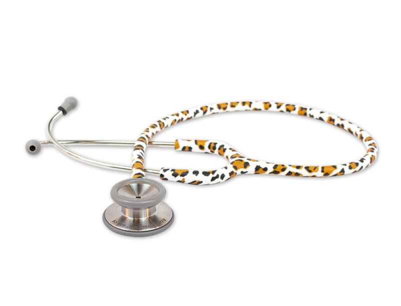 American Diagnostic Corporation ADC 603 Adscope Stethoscope Leopard