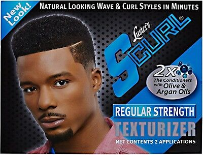 - Luster's S-Curl Hair Texturizer Regular Kit 2 ea