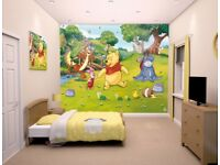 For Sale - Winnie the Pooh wallpaper mural by Walltastic