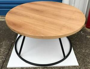 HALF PRICE - Industrial Round Coffee Table
