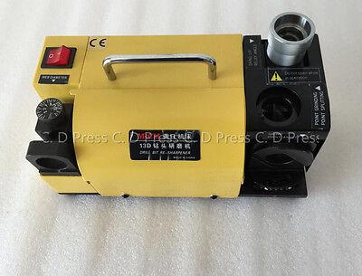 Mr-13d Drill Bit Sharpener Grinder 100-130 Angle Grinding Machine For 2-13 Mm