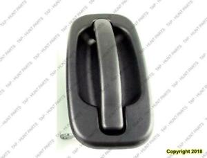 Door Handle Outer Front Passenger Side Textured Without Body Cladding Chevrolet Avalanche 2002-2006