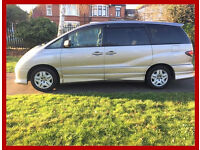 2003 Toyota Estima 2.4 -- 5 Doors -- Automatic -- 7 Seaters -- Hpi Clear -- Alternate4 Zafira Scenic