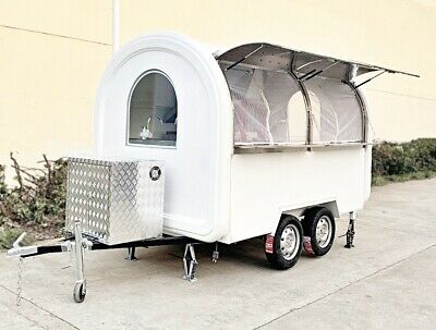 Custom Vending Concession Trailer Ready To Ship - Food Truck Mobile Food Cart