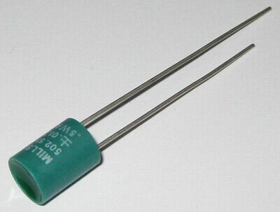 Mills 502.51 Ohm High Precision Resistor With Radial Leads - 0.01 Tolerance