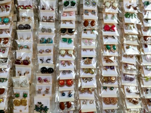 Bulk lots 60Pairs Assorted Mix Women Hook Earrings Girls Charm Elegance Earring