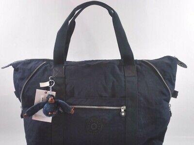 Kipling ART M Tote Shoulder Bag TM2060 - True Blue New with Tags!