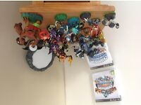 SKYLANDERS AND SKYLANDERS GIANTS, most of the characters only used a couple of times..