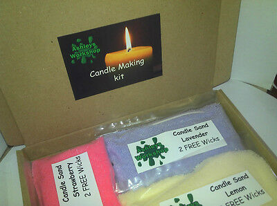 Ashleys workshop candle making kit includes instructions and tips