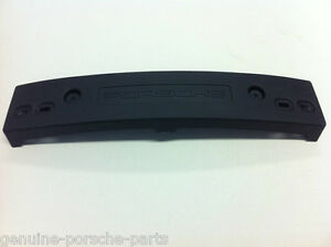 GENUINE PORSCHE BOXSTER 986 FACELIFT NUMBER PLATE SUPPORT PLINTH NEW 2003 - 2004