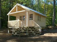 custom made COTTAGE CABIN CHALET SHED BUNKIE MICRO CABIN