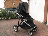 ****BRITAX B DUAL PUSHCHAIR AND ACCESSORIES - TWIN TRAVEL****