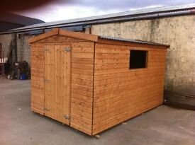 ONLY GARDEN SHEDS TO BUY !!!COME SEE FOR YOURSELF, Fencing,Decking,Playhouse, . shed. Timber