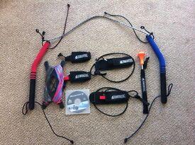 HQ Power Kite Beamer 5 inc Petzl harness system