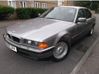 BMW 7 SERIES 740I V8 4DR AUTO FULL SERVICE HISTORY 16 STAMPS*MOT:2/6/2017*FULLYLOADED ORIGNAL ALLOYS