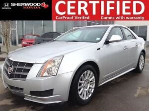 2011 Cadillac CTS AWD | HEATED LEATHER | PANORAMIC | ON STAR | A
