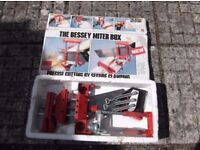 The Bessey Miter Box Boxed old item found in garage