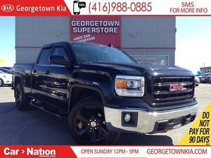 2015 GMC Sierra 1500 SLE BLACK EDITION| LEATHER| BACK UP CAM| ON