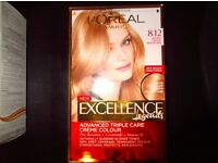 L'oreal hair dye 8.12 natural frosted beige blonde