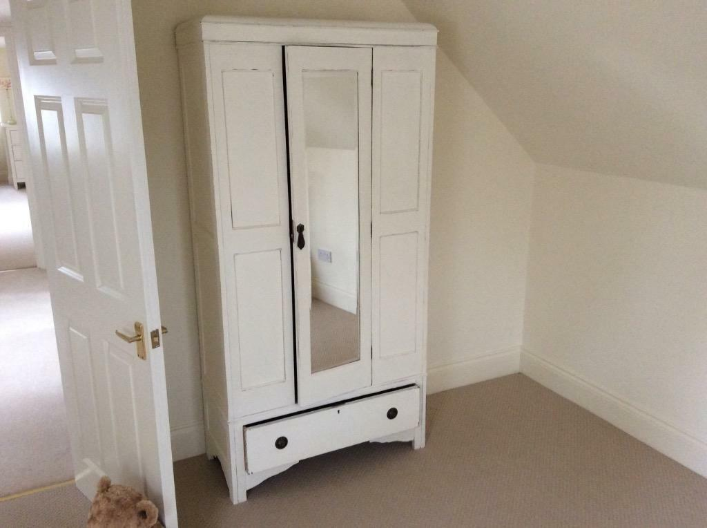 white shabby chic wardrobe buy sale and trade ads