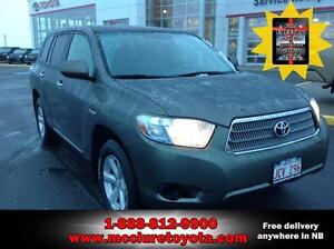 2009 Toyota Highlander hybrid HYBRID FREE iPad with the purchase