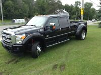 2015 Ford F-450 PLATINUM EDITION, MONSTER PULLING TRUCK WITH EVE