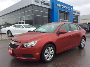 2014 Chevrolet Cruze LT | Bluetooth | Rear Cam | USB & AUX Input