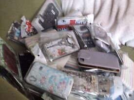 job lot of phone covers