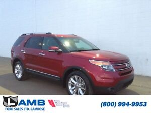 2015 Ford Explorer Limited 4WD with Blind Spot, Navigation and M