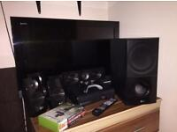 Bundle Sale: Sony Bravia,LG Home sound system and Xbox 360 with games!