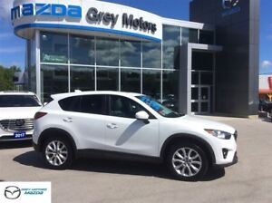 2014 Mazda CX-5 GT, Heated Leather Seats, P. Sunroof, One Owner