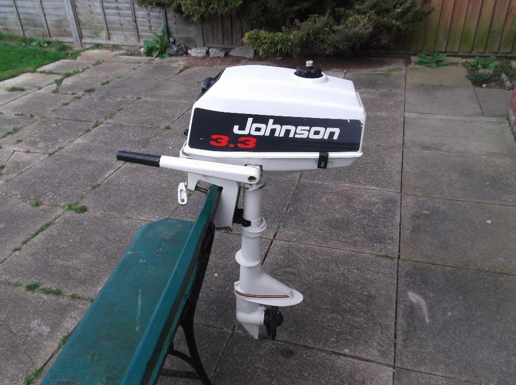 Johnson 3 3 hp outboard in taverham norfolk gumtree for 10 hp outboard jet motor