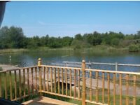 Private caravan to let at Pinewoods, Wells next the Sea. Lake view & few minutes from beach