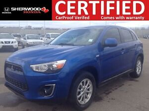2015 Mitsubishi RVR SE 4X4 | BLUETOOTH | HEATED SEATS | USB | CR