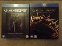 Game of Thrones 1 & 2 Blu ray