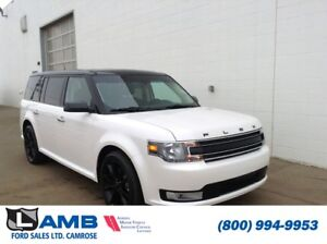 2017 Ford Flex SEL AWD with Vista Roof, Navigation, Black Roof a