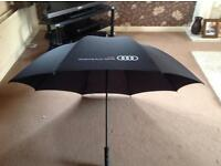 Large Audi umbrella brand new