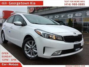 2017 Kia Forte EX | $126 BI-WEEKLY | FREE SNOW TIRES! |