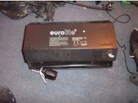EuroLite 400w (240v AC) UV/Black Light c/w spare lamp