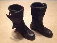Forma GT motorcycling boots size 12 (I'm an 11 and they are v comfy)