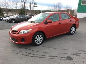 2011 Toyota Corolla ONE OWNER LOW MILEAGE