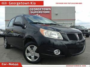 2009 Pontiac G3 Wave ONLY 74,185KMS   MANUAL   A/C   AUX IN  