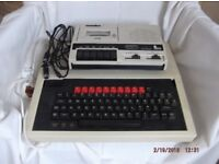 Old BBC computer and games