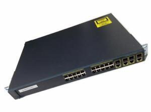 Cisco Catalyst 2960G Switch - (20) Gigabit ports - (4) combo Gigabit SFP - WS-C2960G-24TC-L