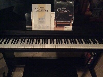 Yamaha Clavinova electric piano- clp-550, used for sale  Brentwood