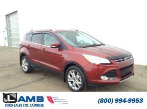 2014 Ford Escape Titanium 4WD with MyFord Touch, All Weather Flo