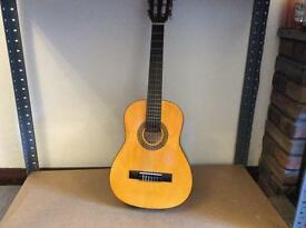 Quarter (1/4) sized acoustic guitar, handmade by Stagg